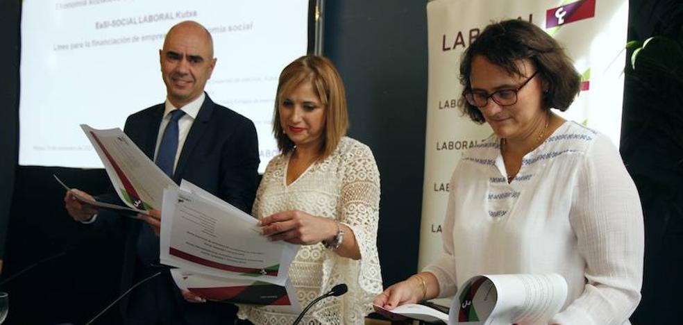 El Gobierno Vasco eleva un 17% las ayudas a entidades de economía social