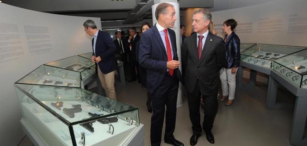 Urkullu pone a la Asociación Armera como referente de la industria vasca