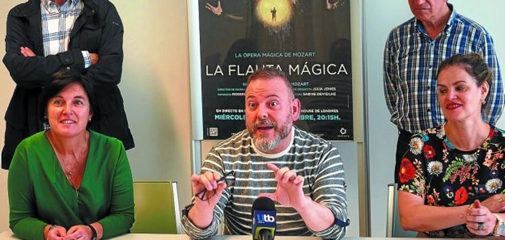 'La flauta mágica' abrirá la nueva temporada de ópera del Zelai Arizti