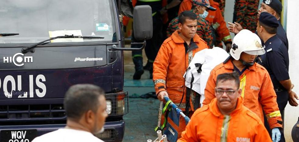 Mueren 24 personas en Malasia por el incendio de una escuela musulmana