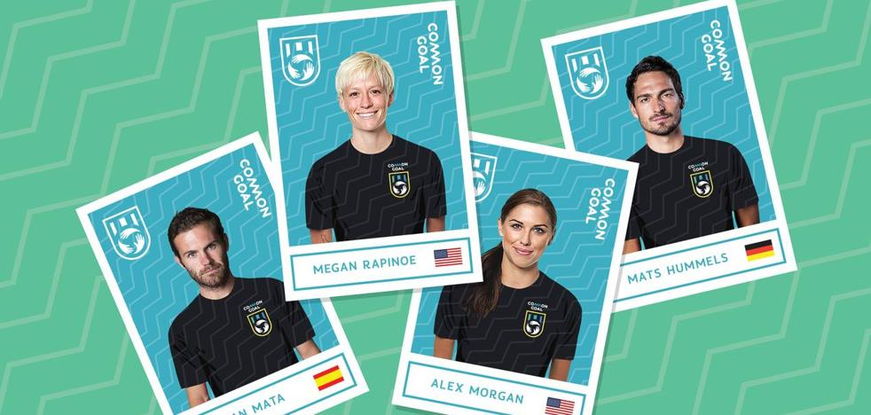 Common Goal: Megan Rapinoe y Alex Morgan se unen a la causa de Juan Mata