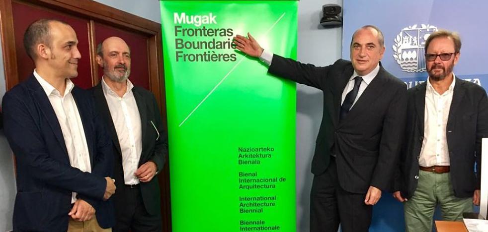 La Diputación y el Ayuntamiento de San Sebastián se adhieren a la I Bienal Internacional de Arquitectura de Euskadi 'Mugak'
