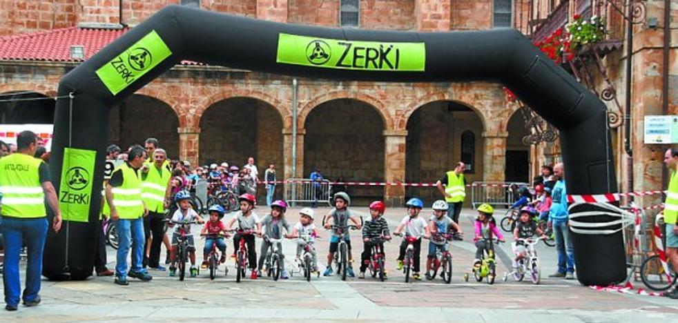 Las fiestas de Santikutz Txiki arrancan hoy sobre dos ruedas para los niños