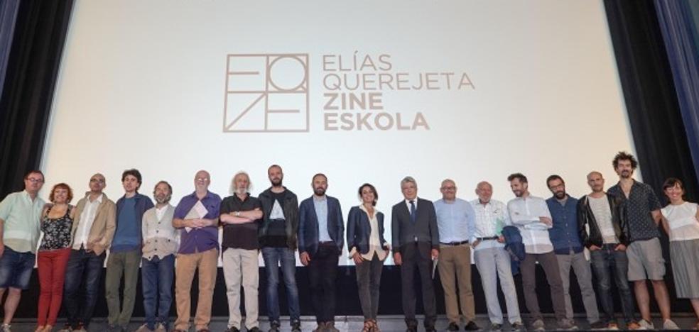 La escuela de cine Elías Querejeta se presenta en Madrid ante numerosas personalidades del sector