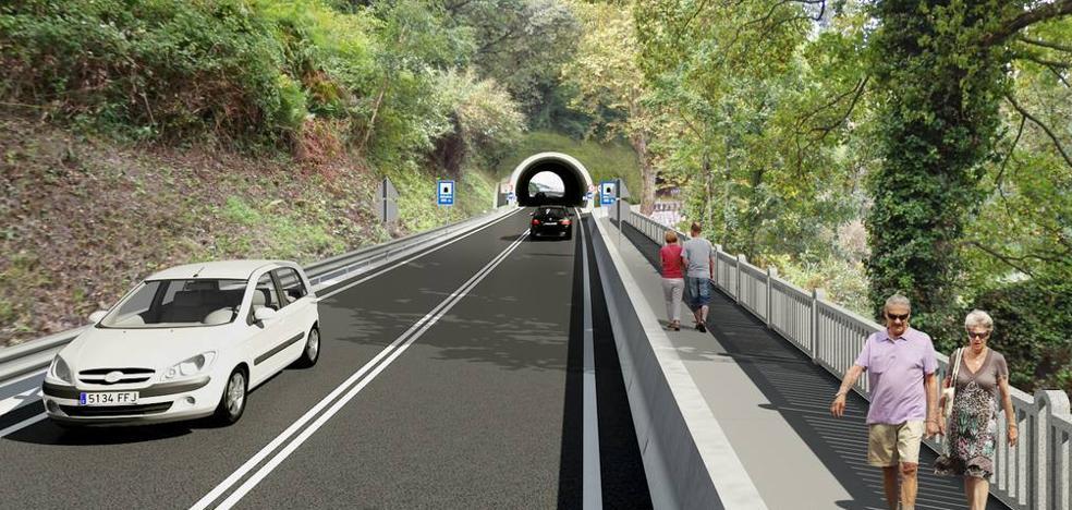 Mutriku, más cerca de Gipuzkoa gracias a la nueva carretera hacia Deba