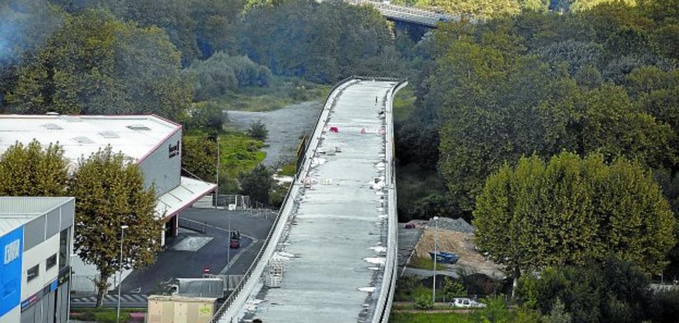 Las obras del TAV en Gipuzkoa se aceleran para acabarlas en 2019