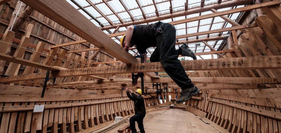 Albaola abrirá el martes la primera escuela de carpintería de ribera de Euskadi