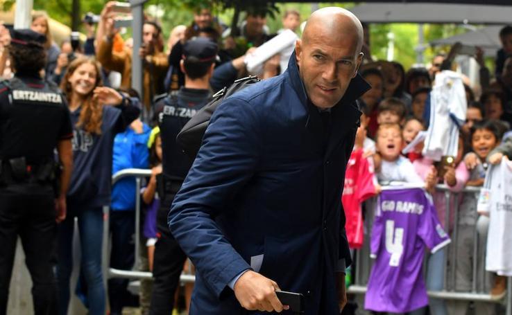 El Real Madrid ya está en San Sebastián