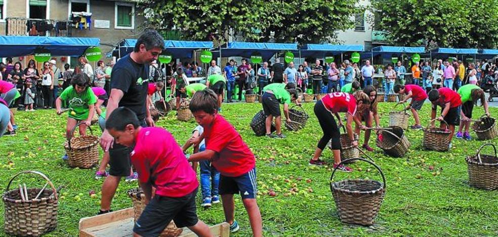 Goldea anima a las familias del municipio a participar en la Sagar Uzta