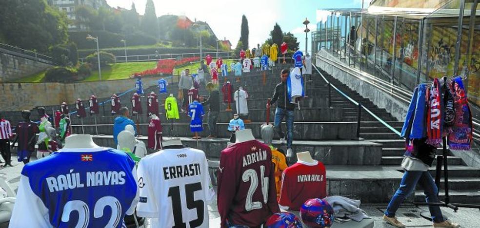 Eibar se hace «galáctico» con la venta de camisetas para las fiestas de Amaña