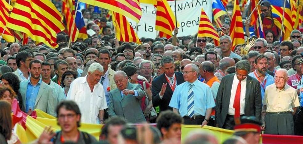 La década que alentó la desconexión catalana