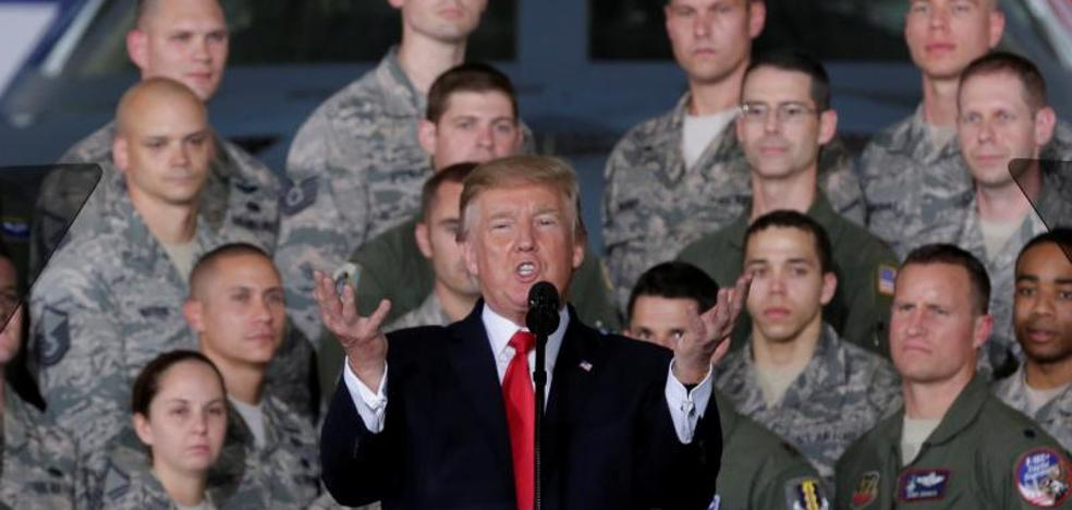 """Trump se mofa de Kim Jong-un llamándole """"Hombre Cohete"""""""