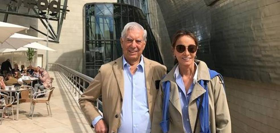 La mañana cultural de Mario Vargas Llosa e Isabel Preysler en Bilbao