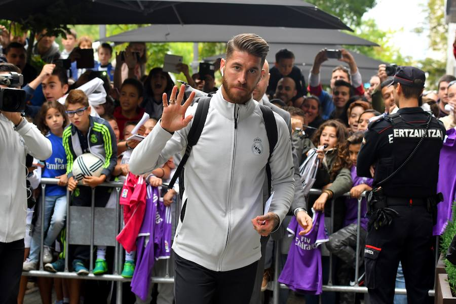 El Real Madrid ya está en Donostia