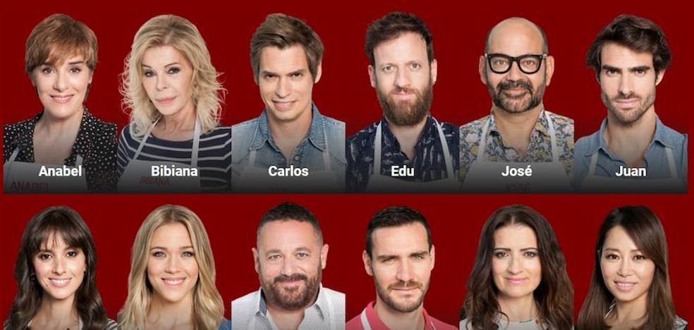'MasterChef Celebrity 2': Los famosos vuelven hoy a la cocina de TVE