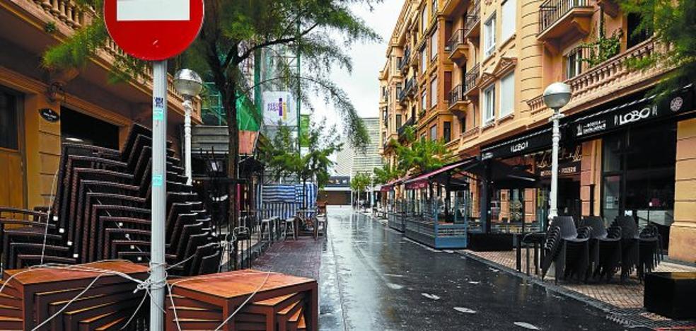 Peña y Goñi y parte de Zabaleta serán declaradas zonas saturadas de bares