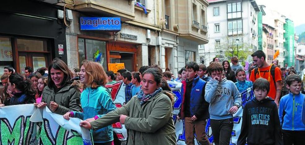 El IES Uni Eibar-Ermua realizará una marcha por la movilidad saludable