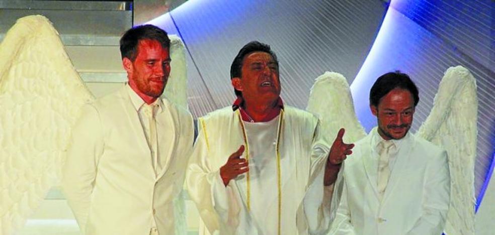 Mariano Peña y compañía representan la 'Obra de Dios' en Kultur Etxea