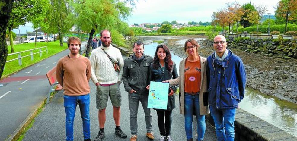 La Feria Ribera inundará de arte contemporáneo las orillas del Bidasoa