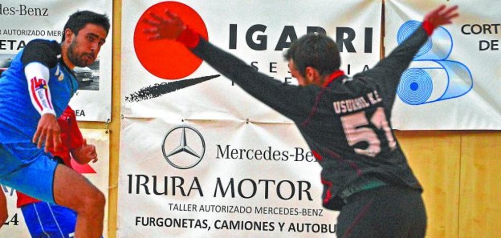Tolosa CF Eskubaloia arranca la liga con una victoria convincente