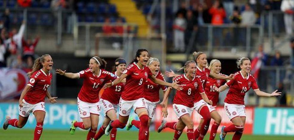 Dinamarca encabeza la igualdad en el fútbol