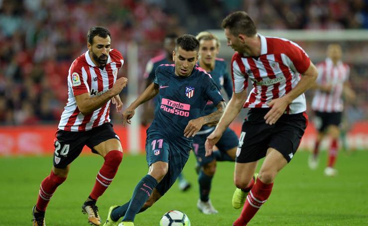 Las mejores imágenes del Athletic-Atlético