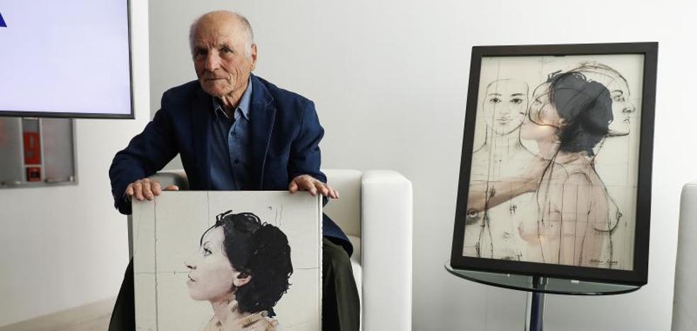 El alma de Antonio López entre 'Cuerpos y flores'