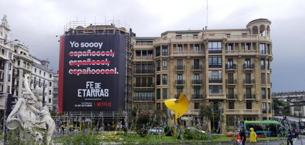 Denuncian ante la Fiscalía el cartel de la película 'Fe de etarras'