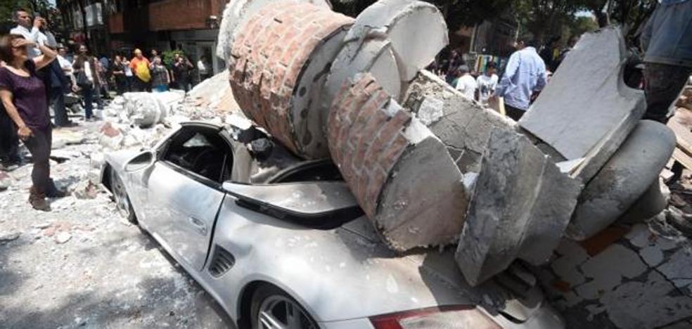 Pánico en las calles de México DF