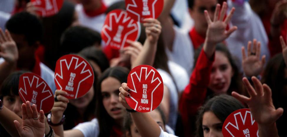 Condenado a 15 meses de prisión un acusado de abusos sexuales en Pamplona durante los pasados Sanfermines