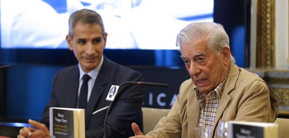 Vargas Llosa: «Sin la literatura nos convertimos en monos»