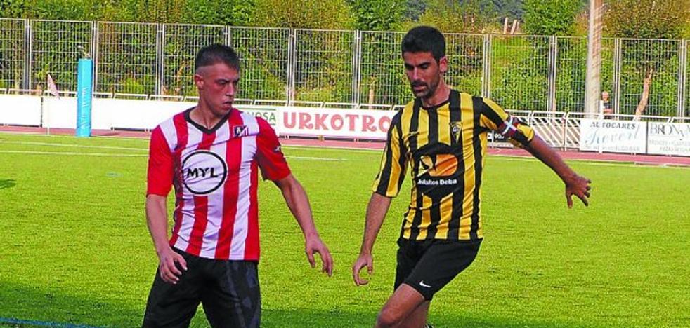 El CD Elgoibar se estrenó en la Liga con un empate en el campo del Aretxabaleta
