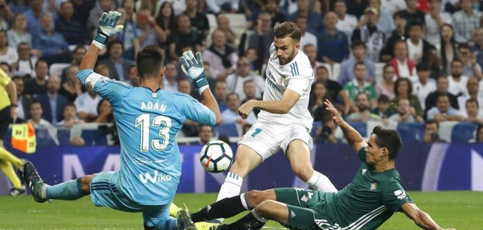 Adán, héroe bético en el Bernabéu