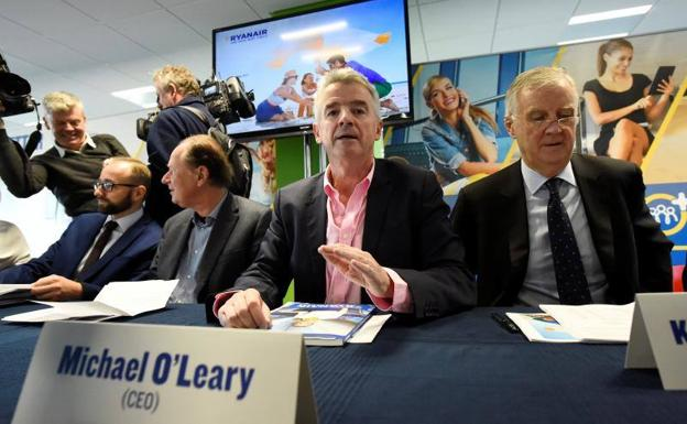 El director general de Ryanair, Michael O'Leary./CLODAGH KILCOYNE