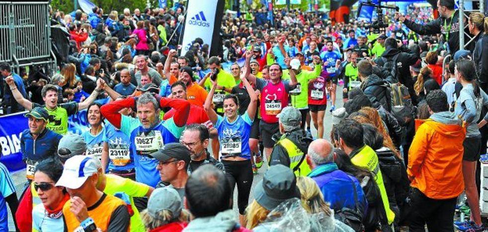 La Behobia - San Sebastián mantiene el tirón