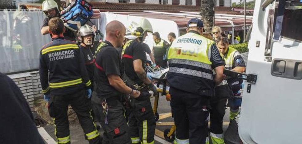 Muere uno de los afectados por el escape de gas en un hotel de Cantabria