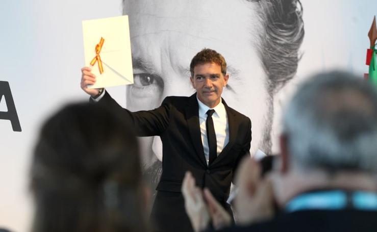Banderas consigue el Premio Nacional de Cinematografía