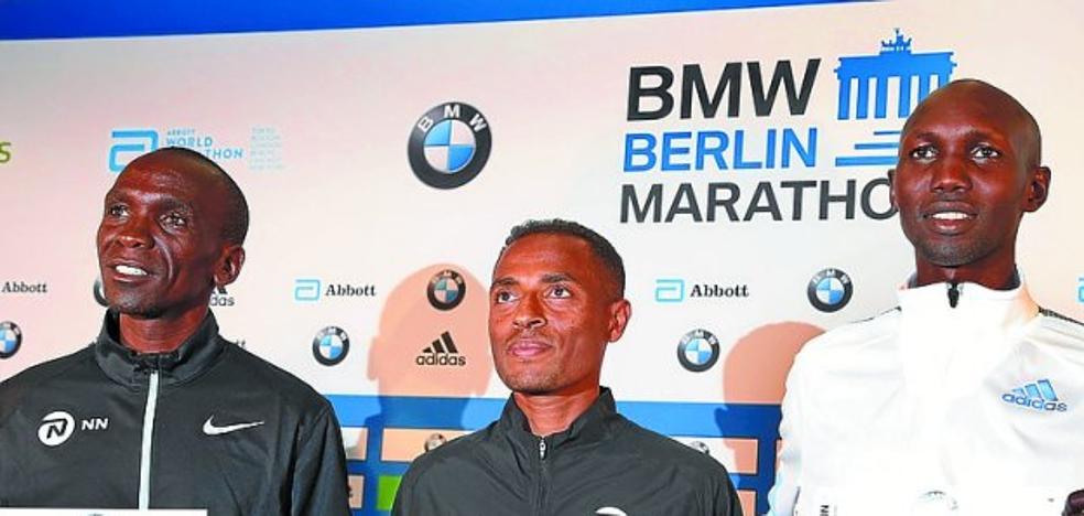 Kipchoge, Kipsang y Bekele atacan el récord mundial de maratón