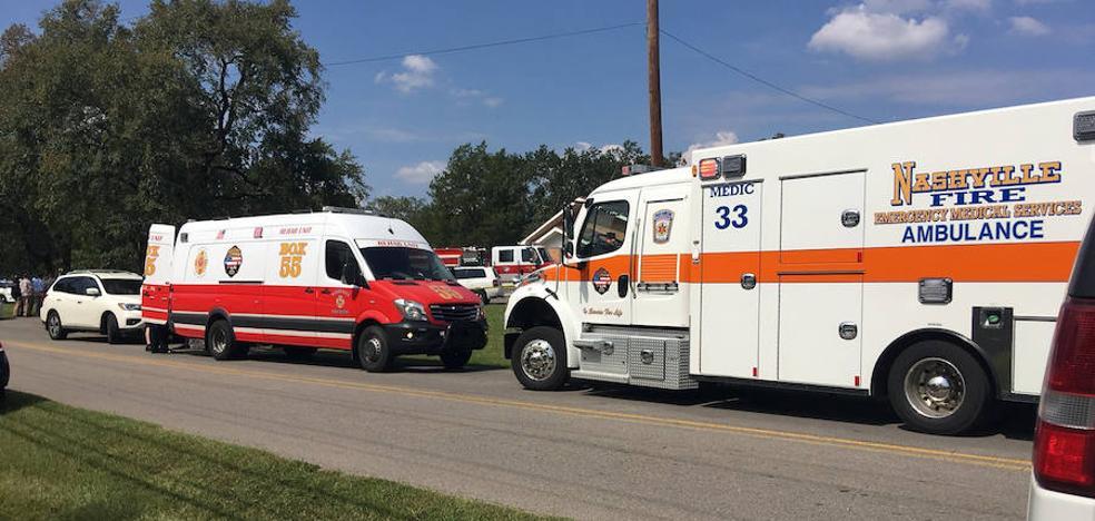 Al menos un muerto y siete heridos durante un tiroteo en una iglesia de Tennessee