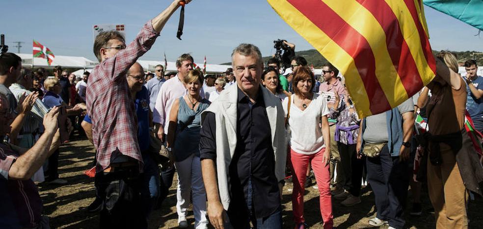 Urkullu: «El Gobierno español forma parte del problema y no de la solución»