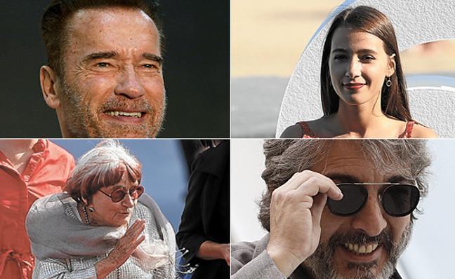 El avión privado de Schwarzenegger y el 'glamour' vasco