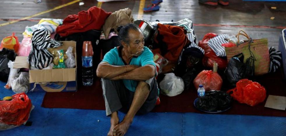 Más de 42.700 evacuados por el volcán Agung en Bali