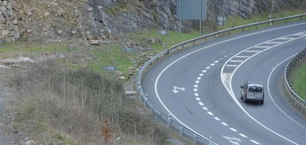 La GI-632 entre Antzuola y Bergara se cerrará al tráfico las noches del miércoles y jueves por obras