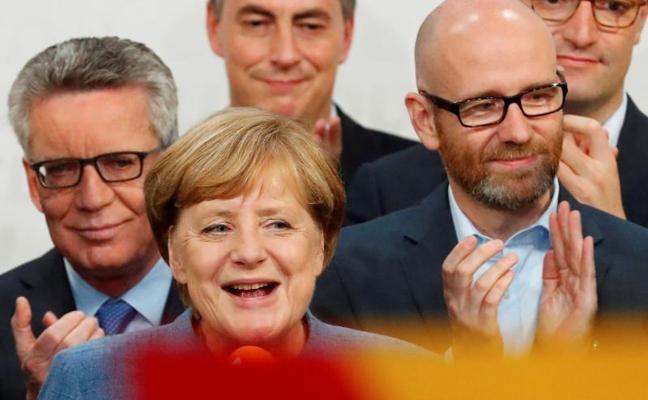 El preocupante auge de la ultraderecha enturbia el esperado triunfo de Merkel