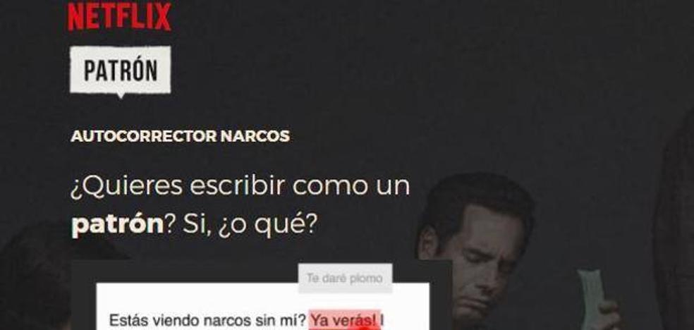 Crean un autocorrector para hablar como los protagonistas de 'Narcos'