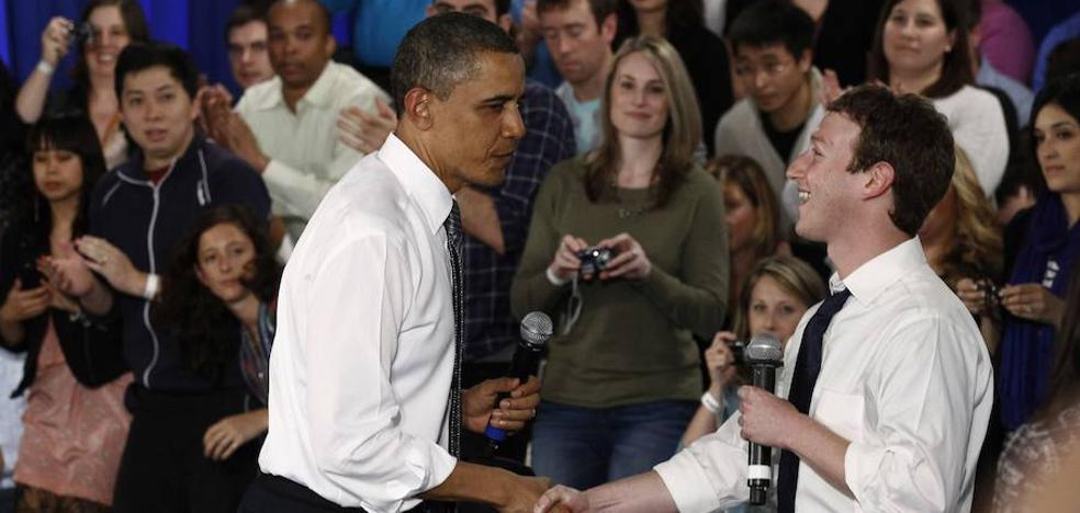 Obama informó a Zuckerberg de la injerencia rusa en los comicios de 2016