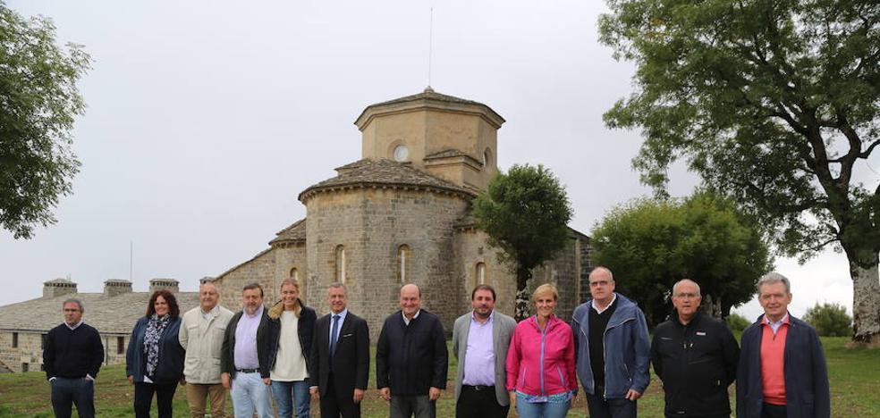 El EBB del PNV se reúne en San Miguel de Aralar en el 40 aniversario del primer Alderdi Eguna