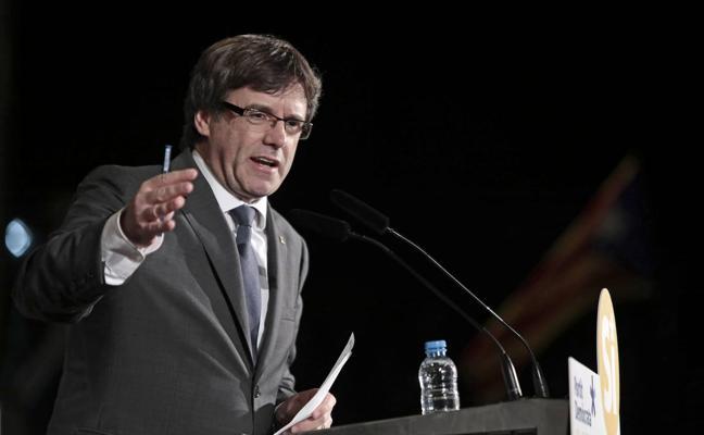 Puigdemont tacha de «inaceptable» que el Gobierno hable de violencia en Cataluña