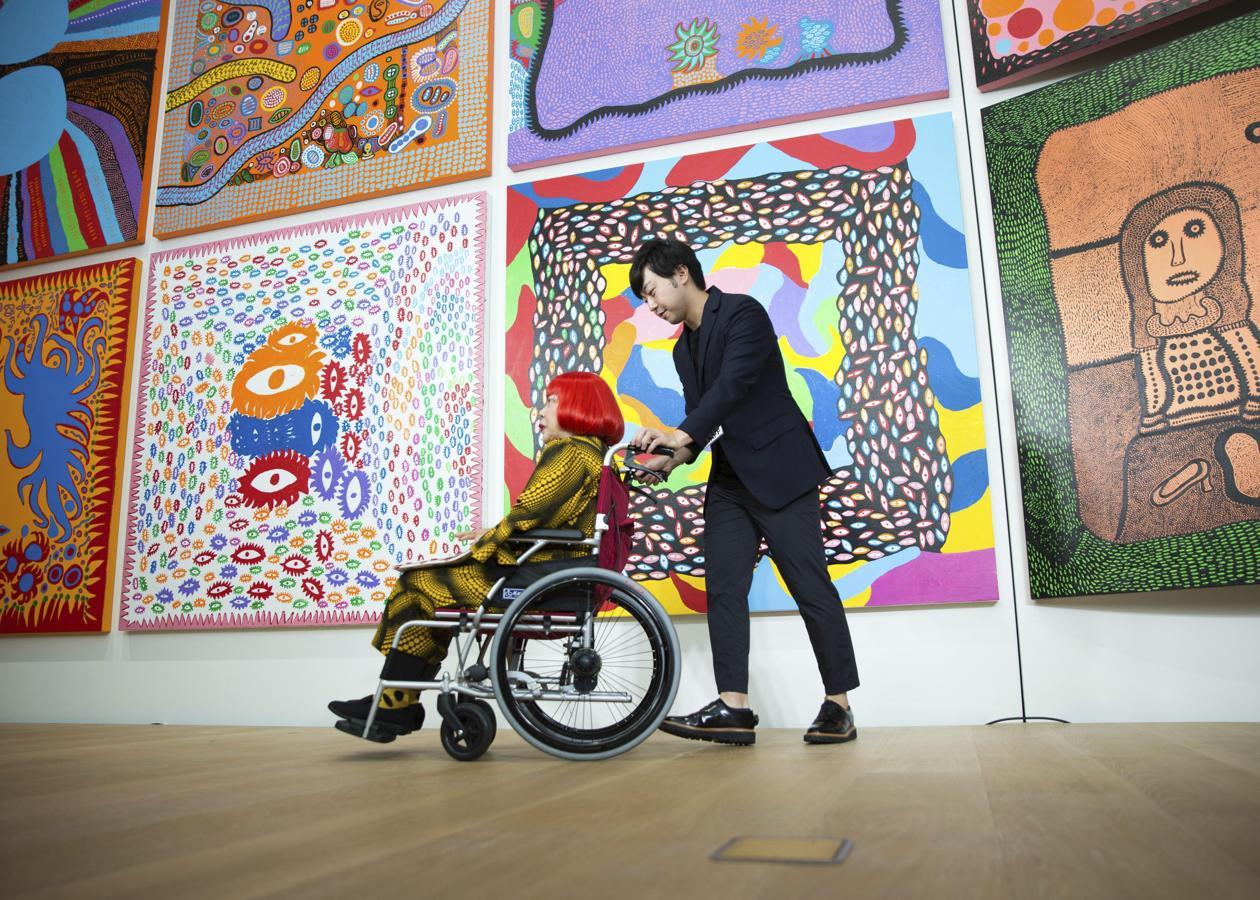 El museo de Yayoi Kusama abre sus puertas en Tokio