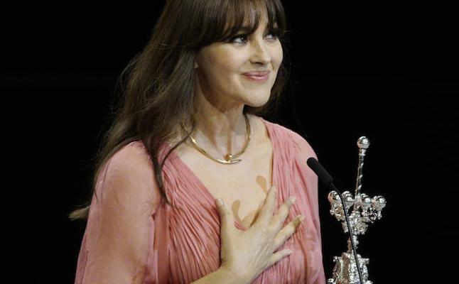 Monica Bellucci: «Me emociona este premio de un festival que respeto tanto»